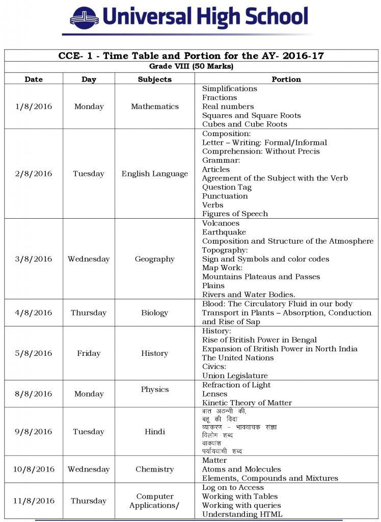 uhm cce-1 grade viii syllabus 2016-2017 (1)-0